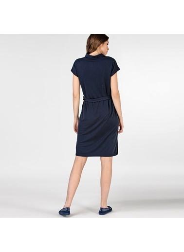 Lacoste Kadın Kısa Kollu Elbise EF0005.05L Lacivert